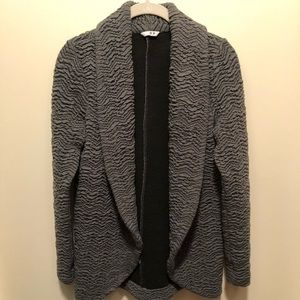 Anthropologie Three Dots Grey Textured Jacket S